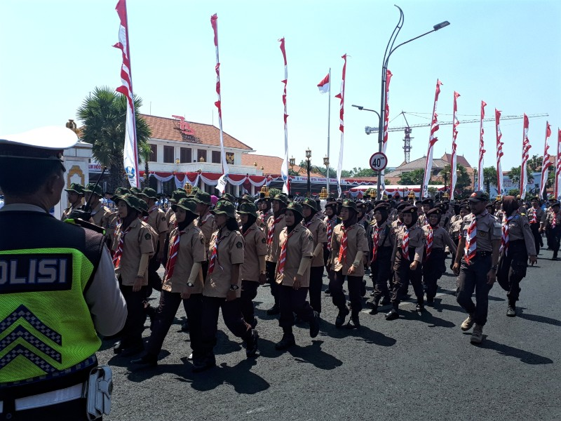 indonesia independence day parade
