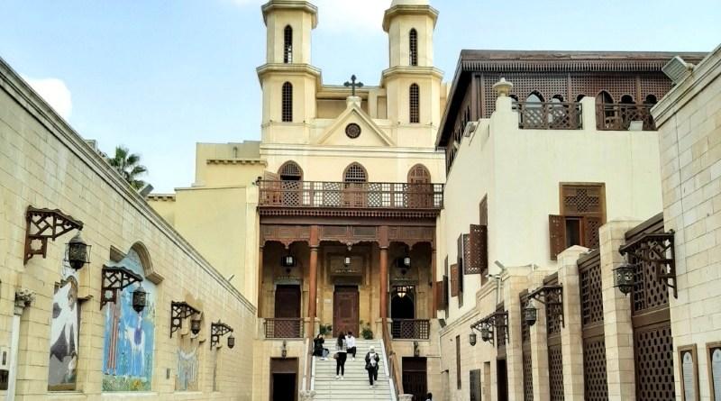 christian cairo hanging church mar girgis