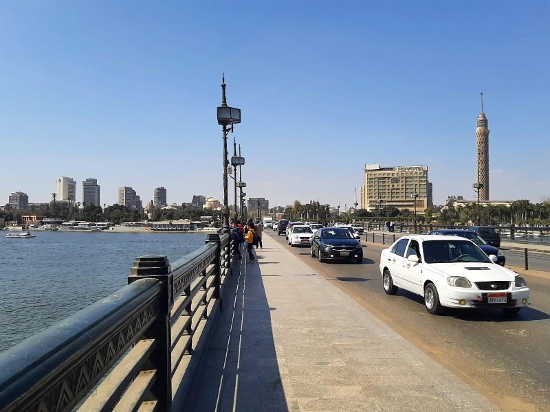 cairo egypt bridge