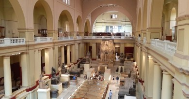 egyptian museum cairo egypt
