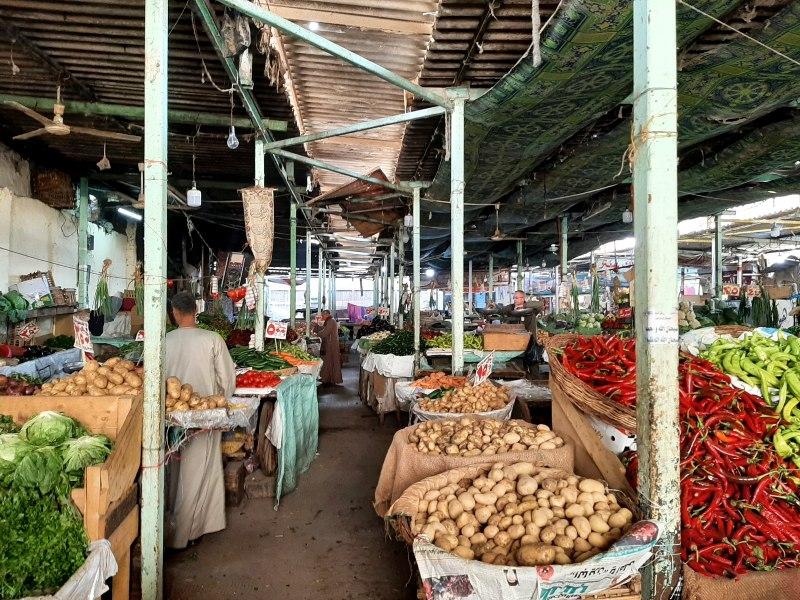 fruit vegetable market cairo