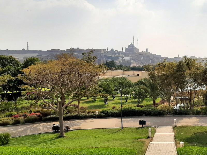 al-azhar park cairo citadel