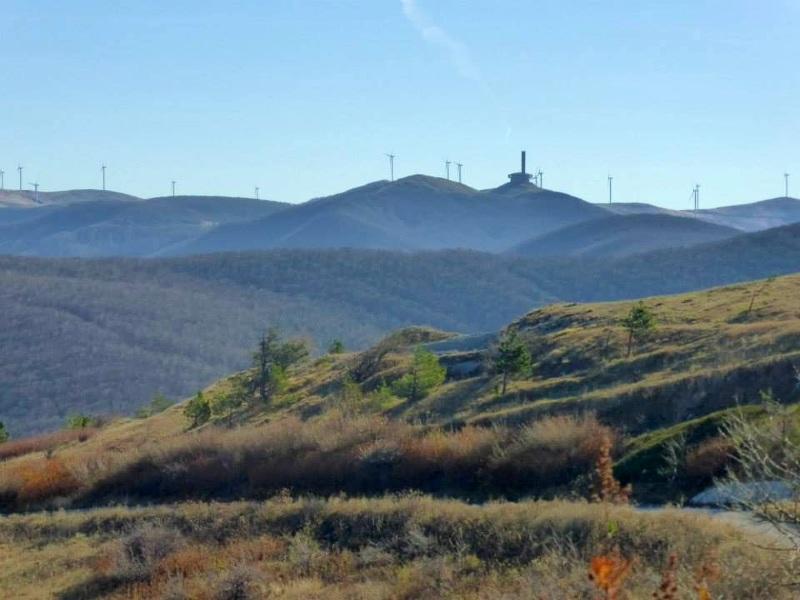 windmills bulgaria communist spaceship