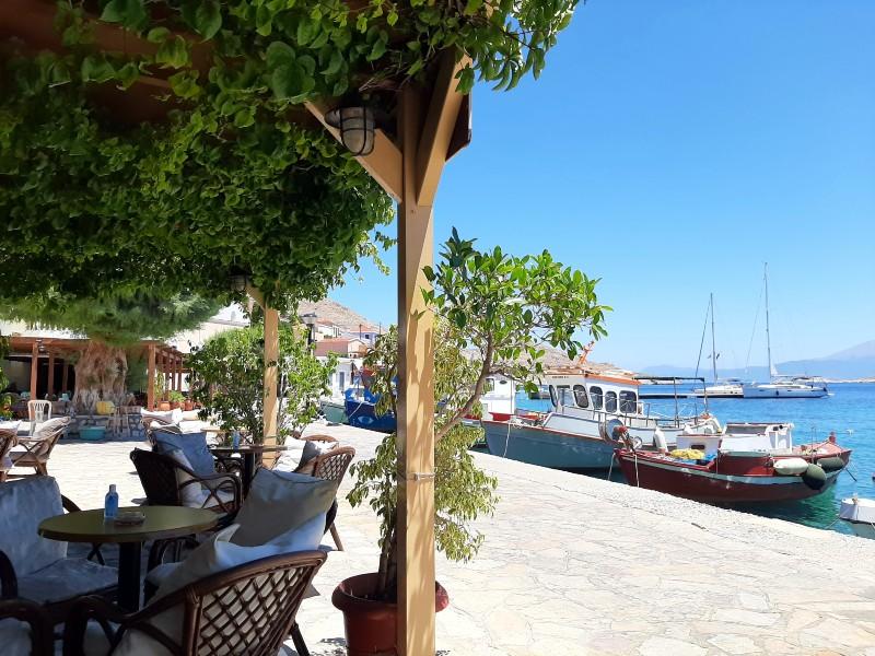 waterfront cafe emborios emporios