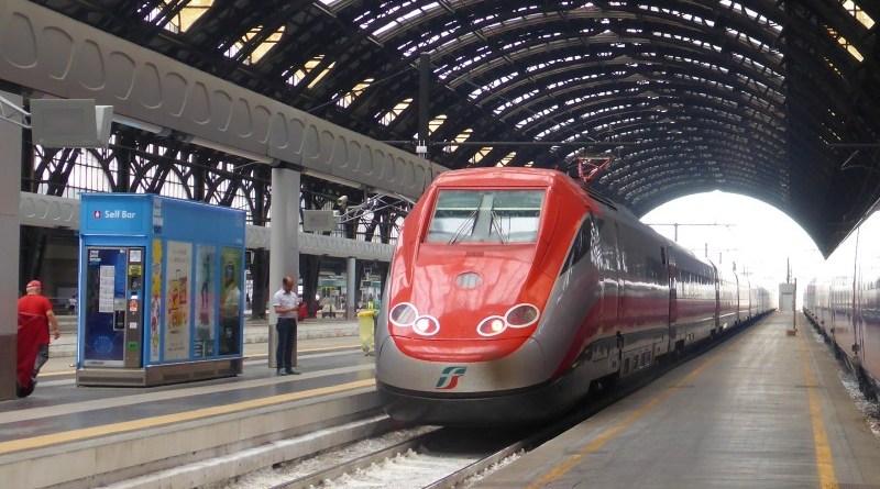milano centrale trenitalia train italy