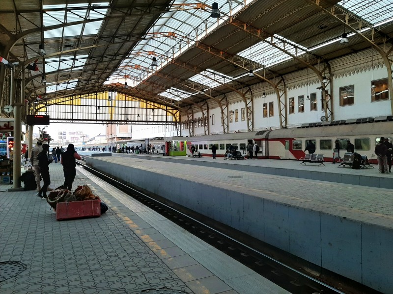 train shed ramses station