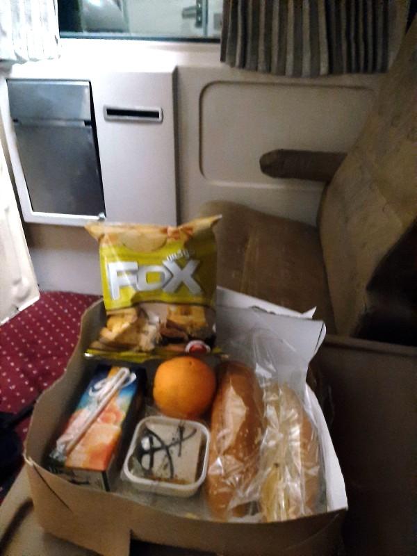 ernst watania sleeper train food