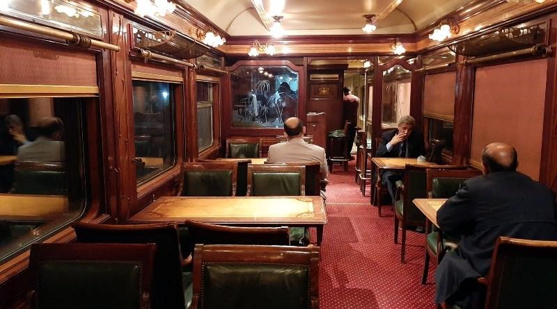 lounge car ernst watania sleeping train dining wagon bar