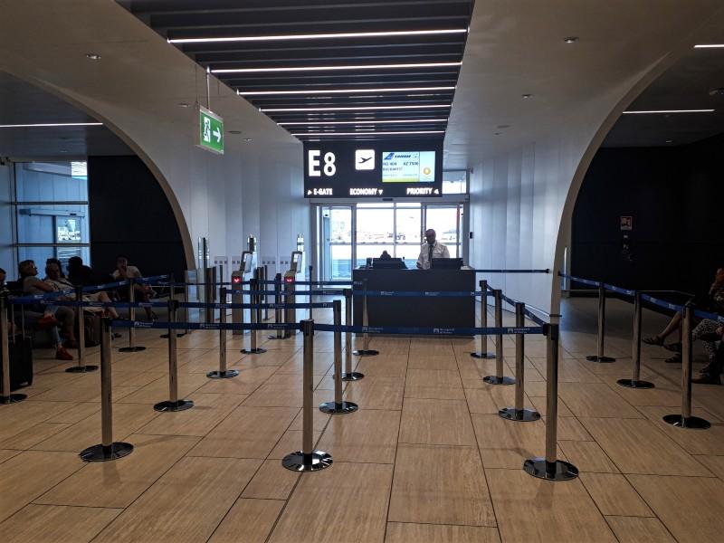departure gate rome fiumicino