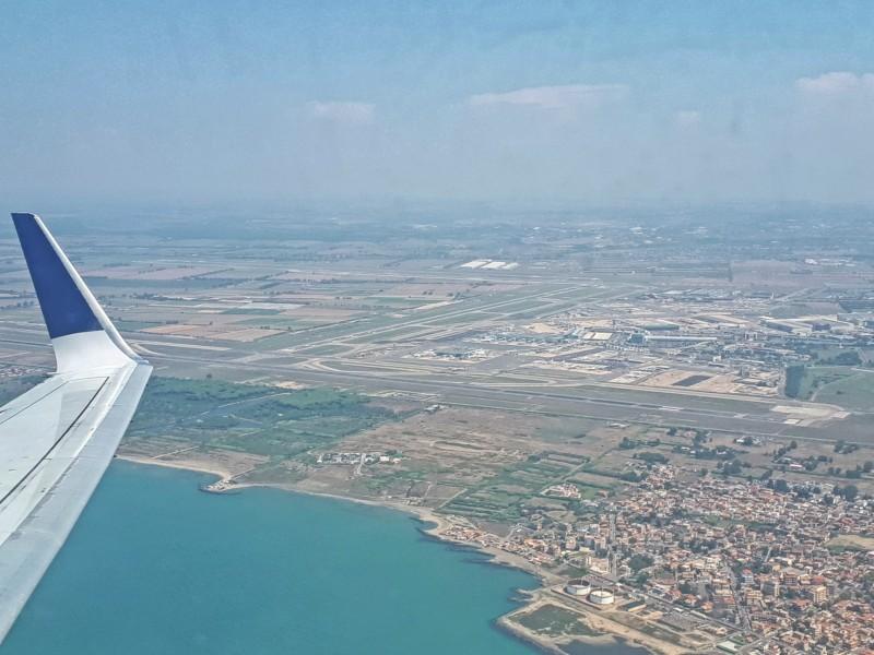 boeing 737-700 tarom rome fiumicino