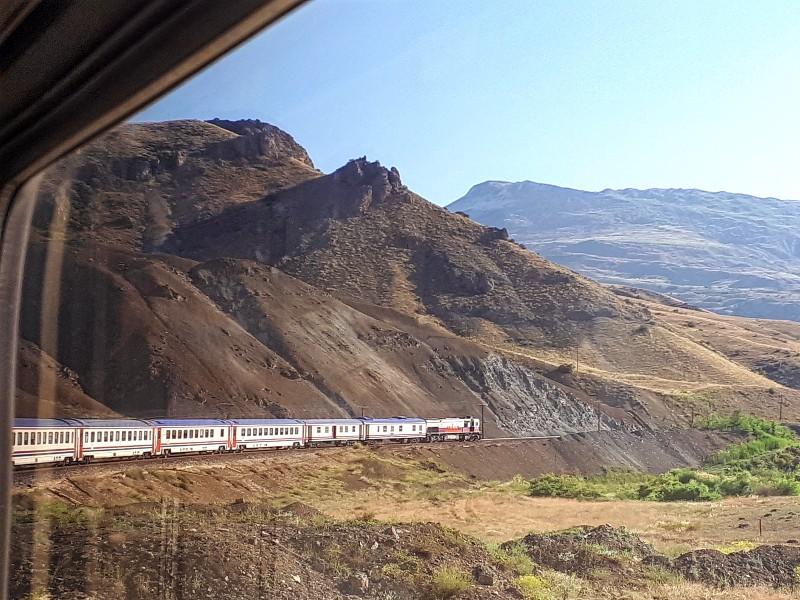 dogu express train turkey anatolia train trip report