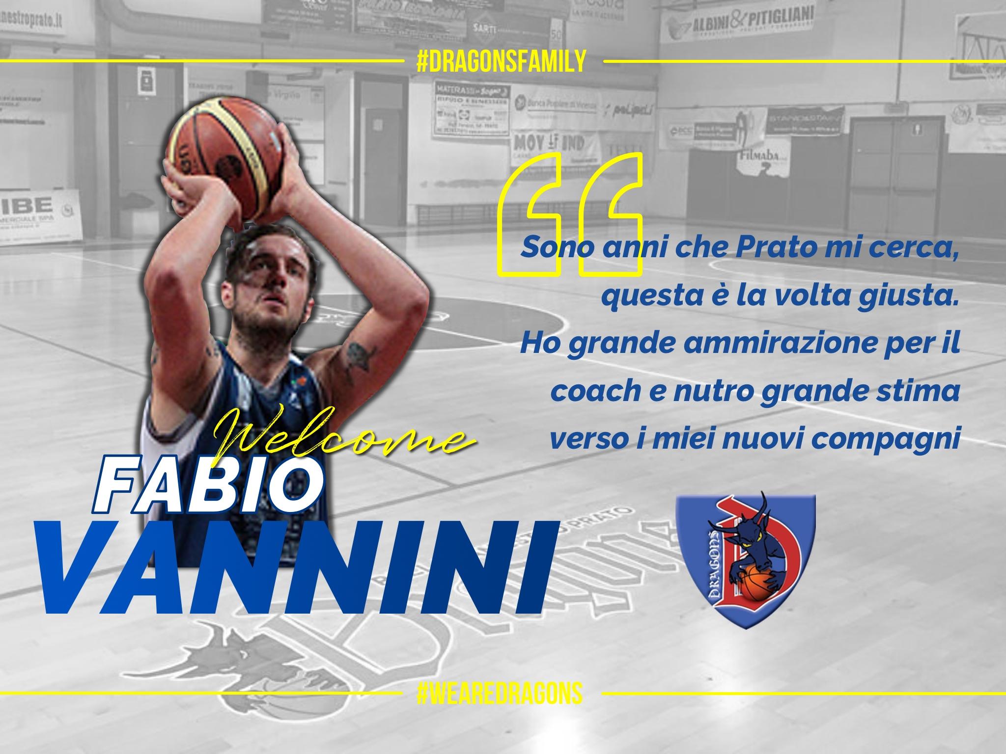 Fabio Vannini è il nuovo centro della SIBE