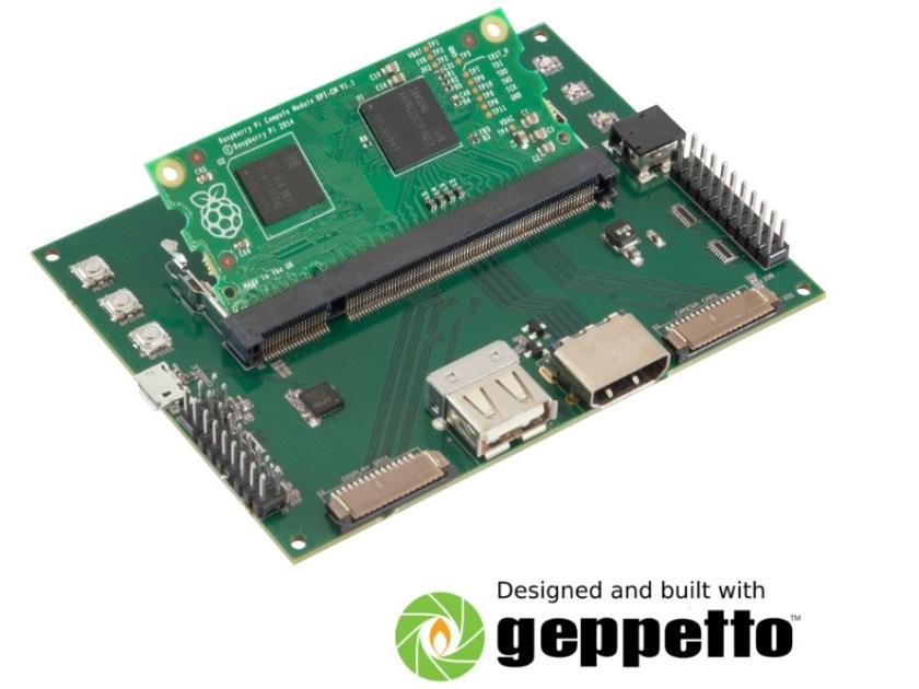 Gumstix Raspberry Pi Compute Module Board