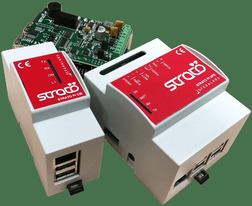 Strato Pi CM Server Industrial Controller
