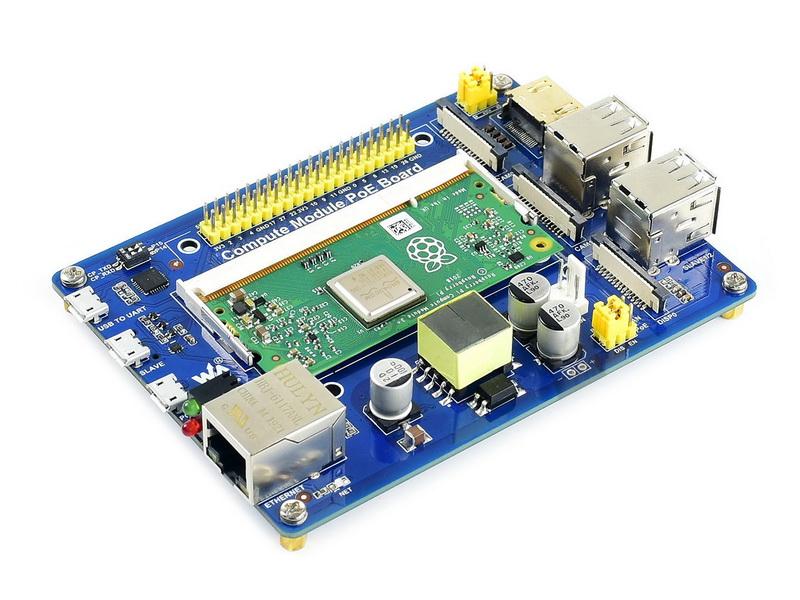 Raspberry-Pi-Compute-Module-Carrier-Board-Waveshare-Electronics-2