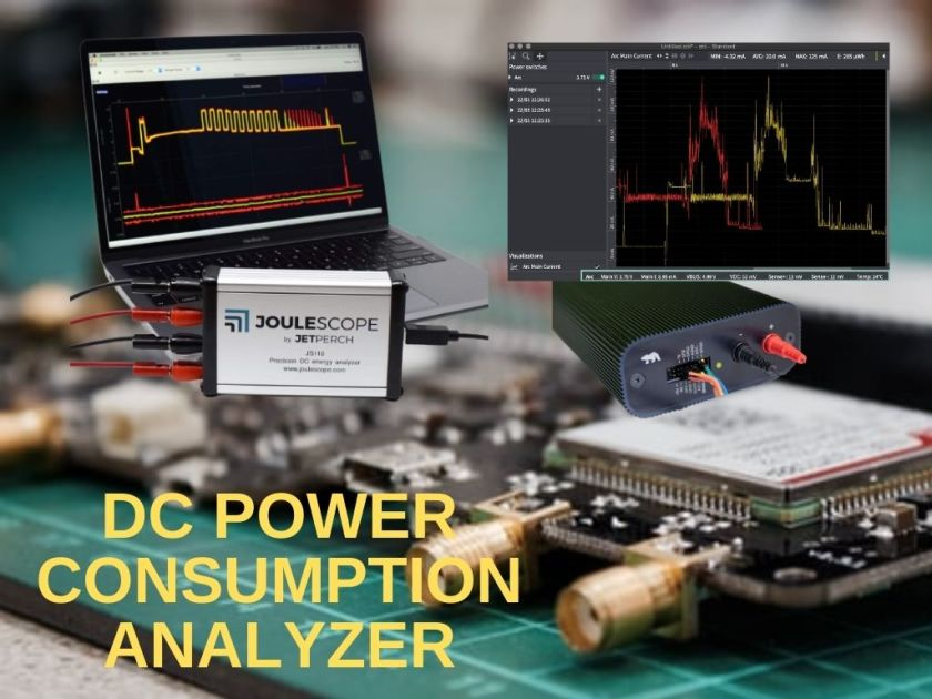 DC Current Analyzer for Embedded IoT Product Development 1
