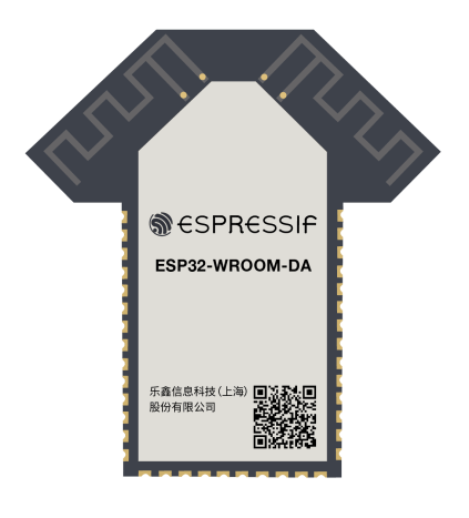 ESP32-WROOM-DA with Dual Antennas for Improved Connectivity 1