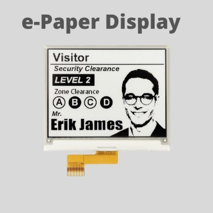 List of Popular E-paper Display Suppliers (Manufacturers) 1