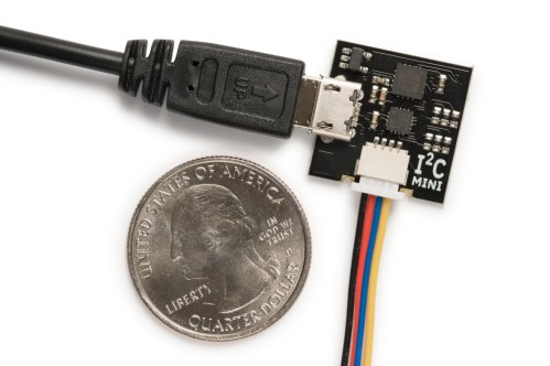 I2CMini: Low Cost USB to I2C Board for Quick Testing 1