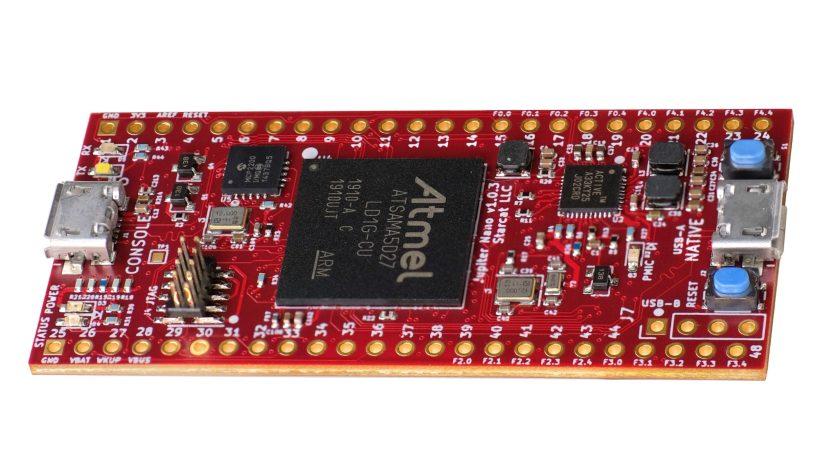 Jupiter Nano Tiny Embedded Board Runs Linux, NuttX 1