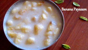 Banana Payasam