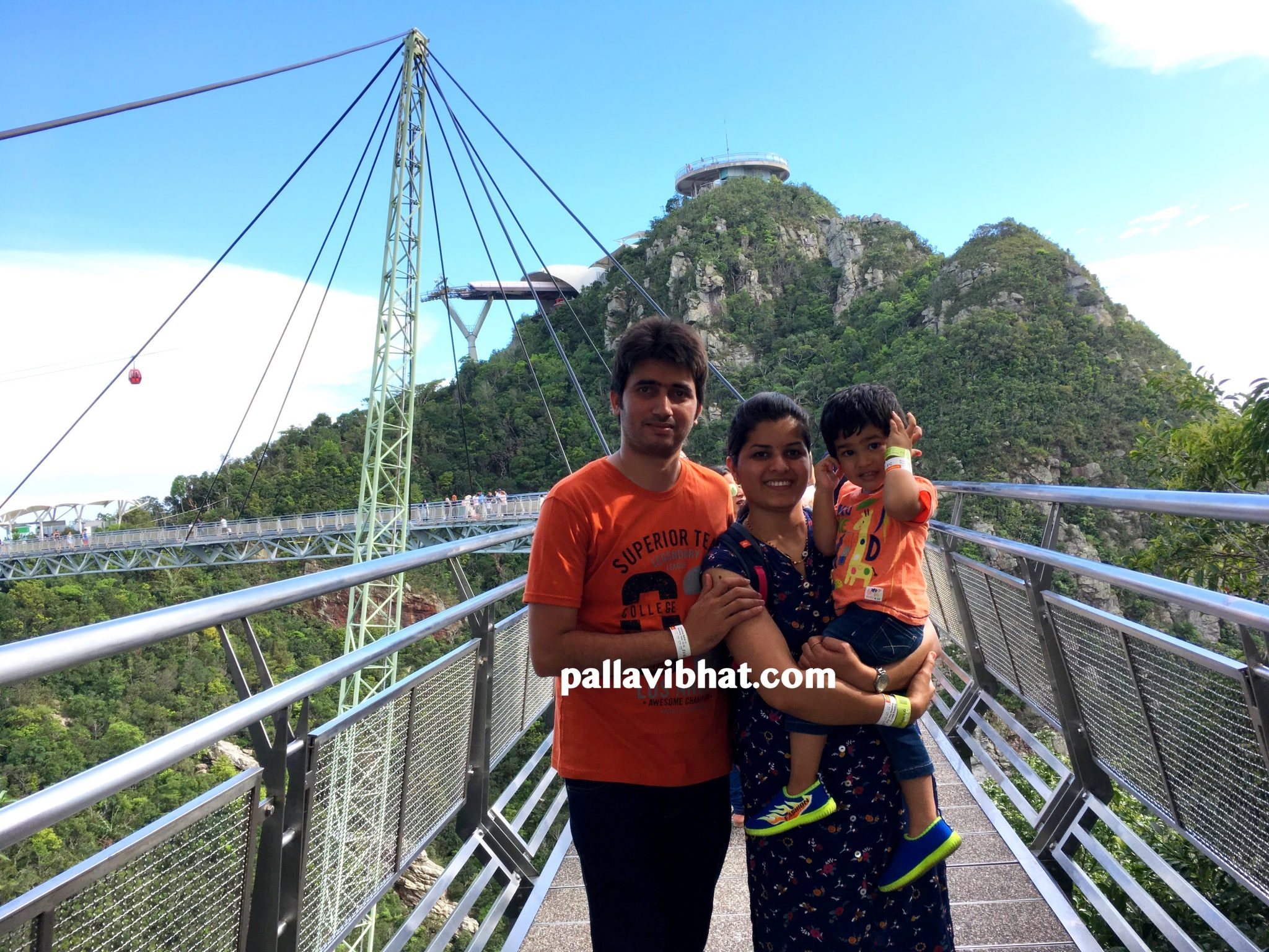 We at Sky Bridge, Langkawi