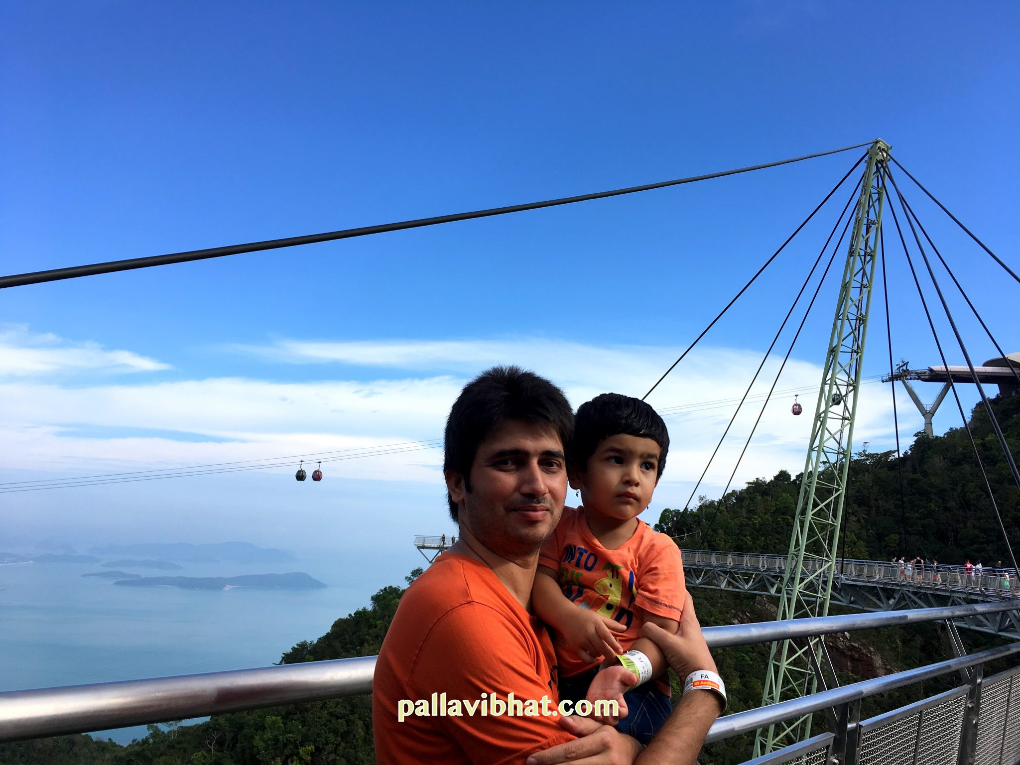 We at Sky Bridge, Langkawi -2