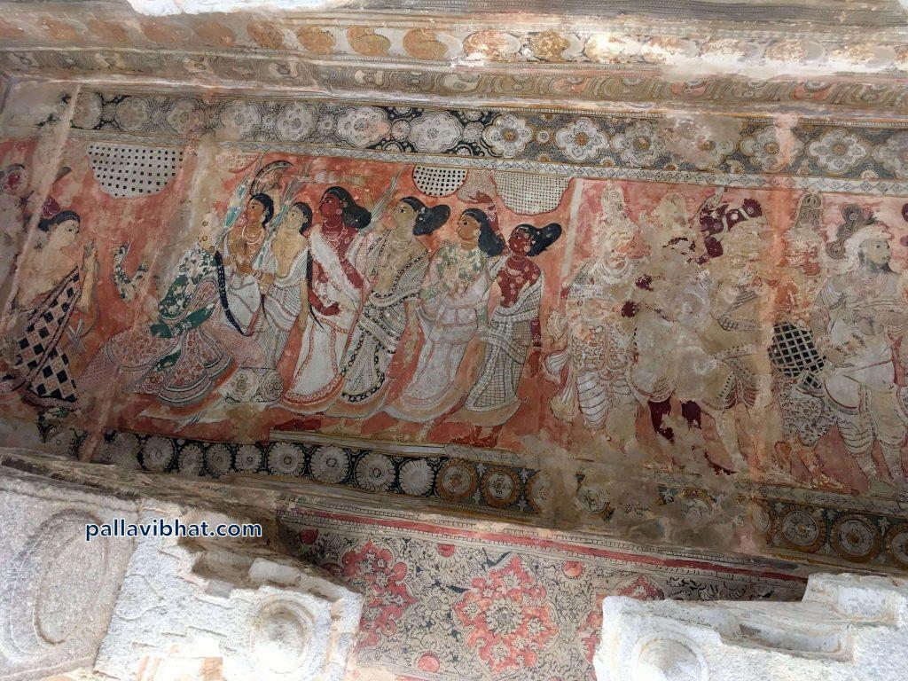 Murals at Lepakshi