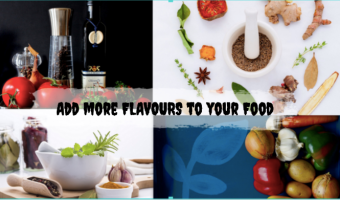 more flavours to your food