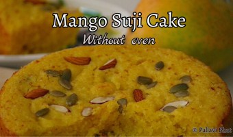 Mango Suji Cake