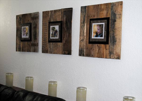 Pergola And Other Pallet Wood Picture Frame Diy Details