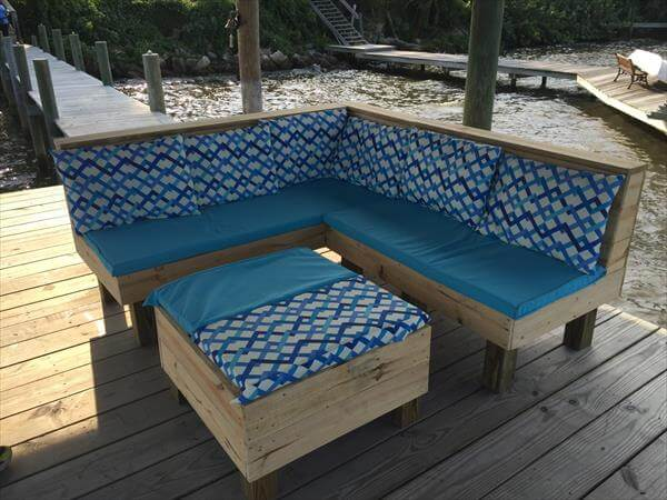 Making garden furniture out of wooden pallets. 31 ways to reuse ...