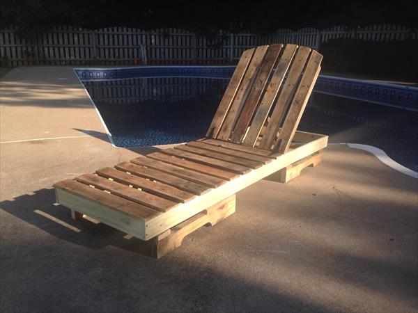 Diy Pallet Lounge Chair Pallet Furniture Plans