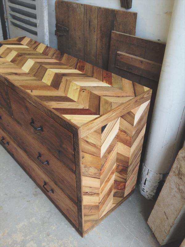 Diy Pallet Dresser Table Pallet Furniture Plans