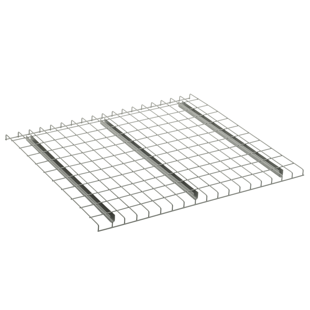 nwp waterfall step 48 x 46 pallet rack wire deck