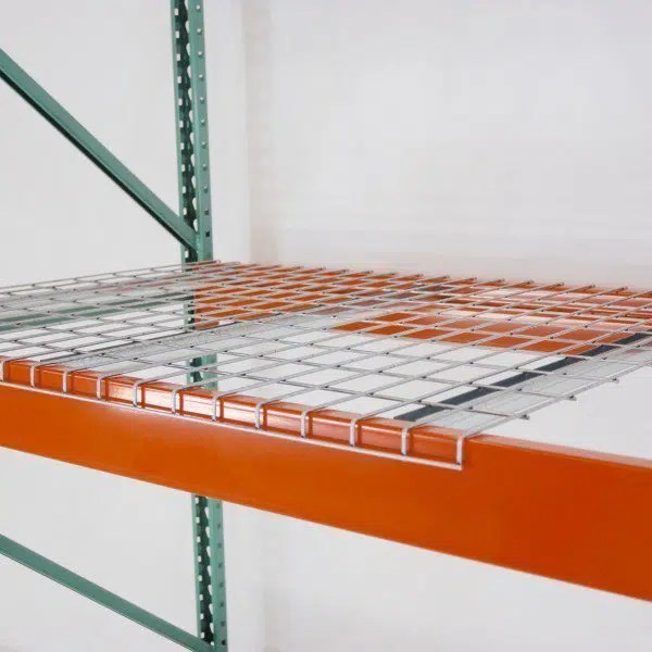 nwp waterfall step 48 d x 52 w pallet rack wire deck