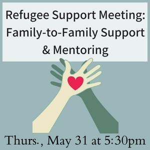 Refugee Meeting 2018 May