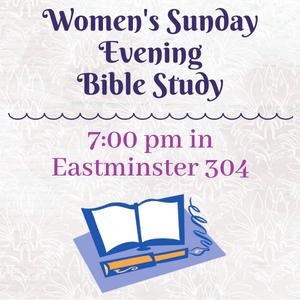 Women's Sunday Bible Study