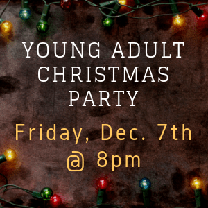 Young Adult Christmas Party 2018 Dec 300x300