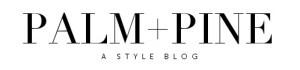 PALM + PINE Blog Header