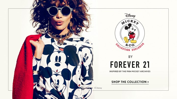 Launched: Disney x F21 Exclusive Collection