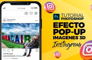 Tutorial Photoshop Efecto Pop-Up 3D