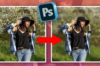 Photoshop Tutorial 📸 Cómo desenfocar fondo en Photoshop