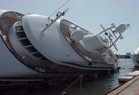 DESTINY seguro como en el accidete de Astilleros de Mallorca