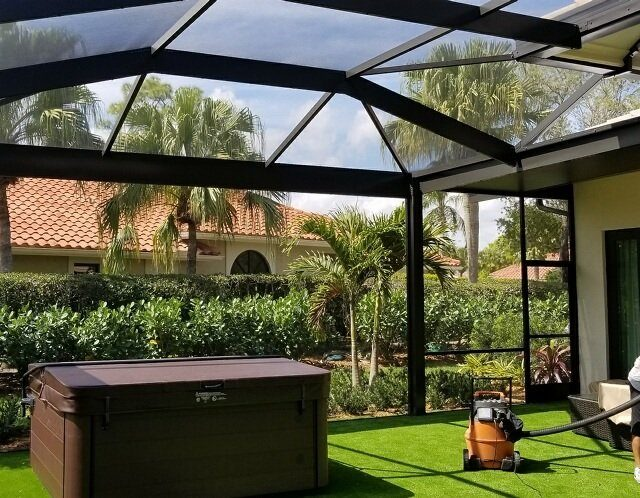 screen enclosures palm beach aluminum