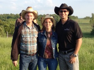 Kim and Danny with Jordan 2013