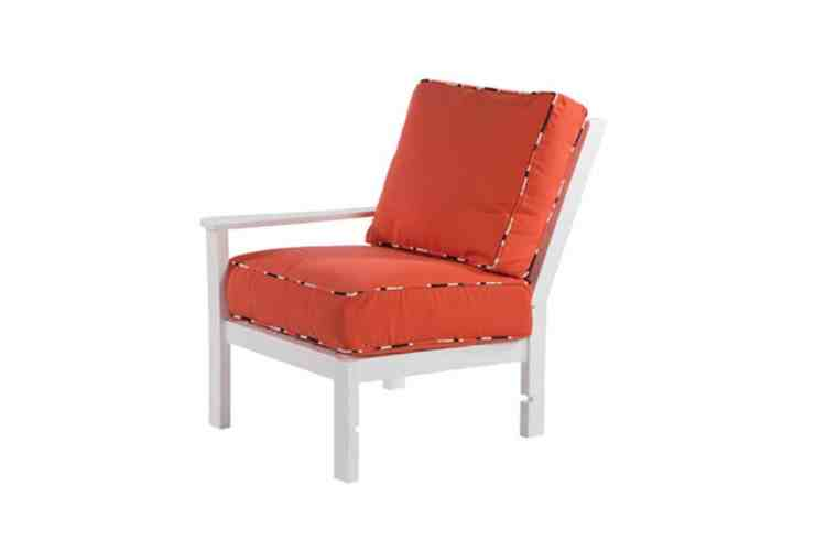 Sanibel Deep Seating Lounge Chair Left Arm