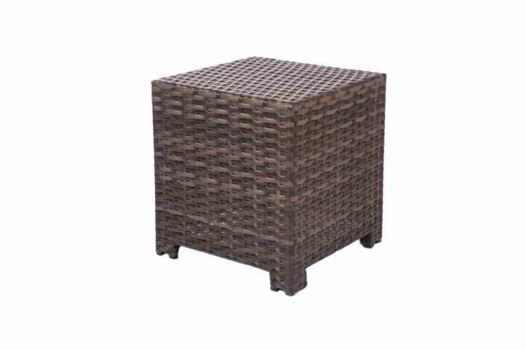 Grand Palm Square End Table