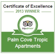 Excellence Award Palm Cove Tropic Apartments