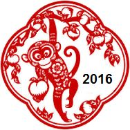 Chinese New Year of the Monkey 2016
